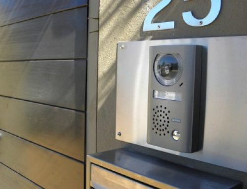 Front gate intercom systems